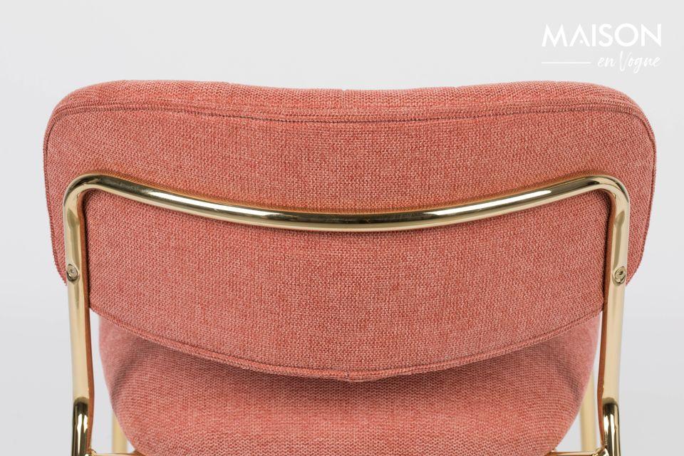 Deze mooie fauteuil is gemaakt van polyester (95%) en nylon (5%)