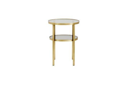 Luxe glazen ovale tafel