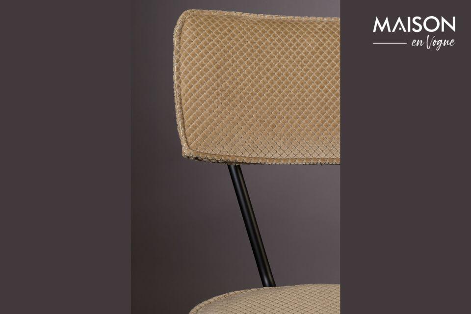 Melonie zandkleurige stoel - 6