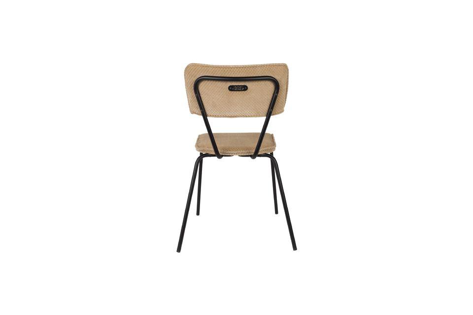 Melonie zandkleurige stoel - 8
