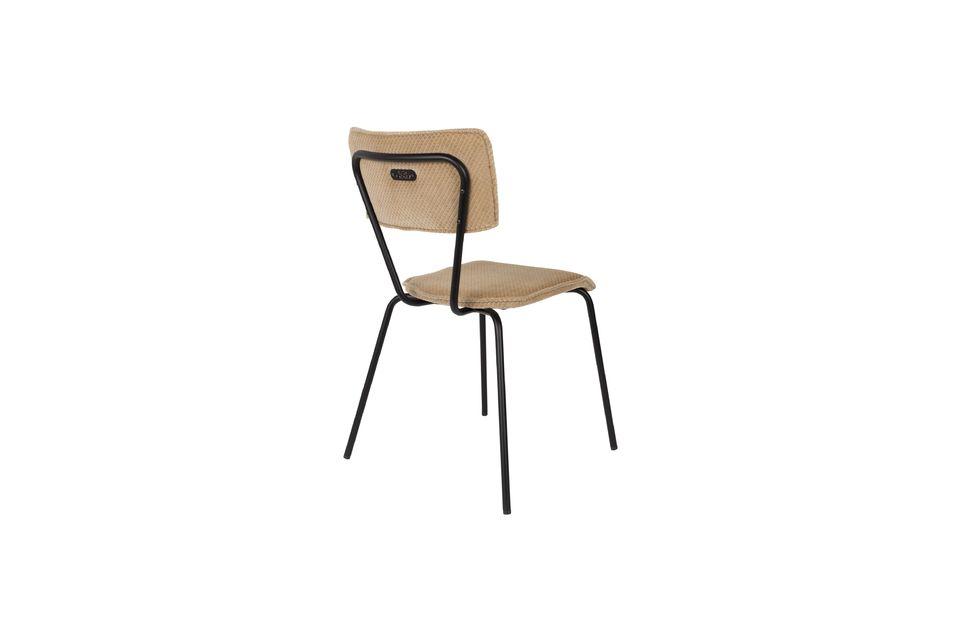 Melonie zandkleurige stoel - 9