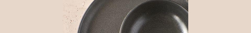 Benadrukte materialen Mirha Granite Bowl