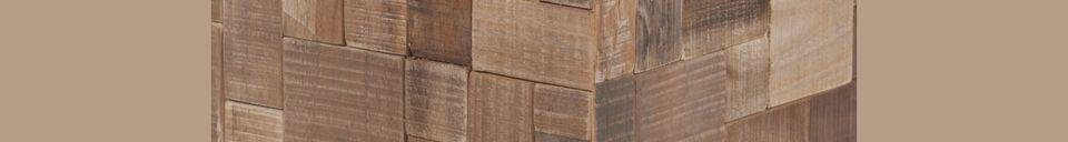 Benadrukte materialen Mozaïek Versieringstafel
