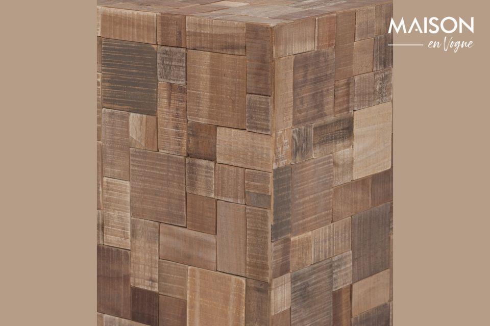 Een perfecte kubus van 40 cm x 40 cm