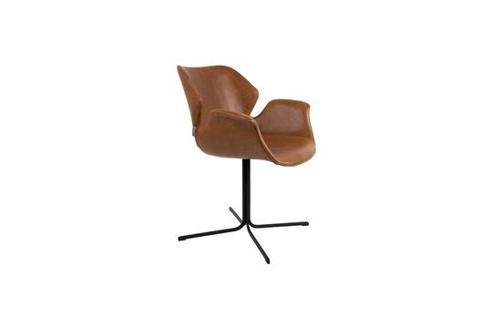 Nikki-fauteuil helemaal bruin