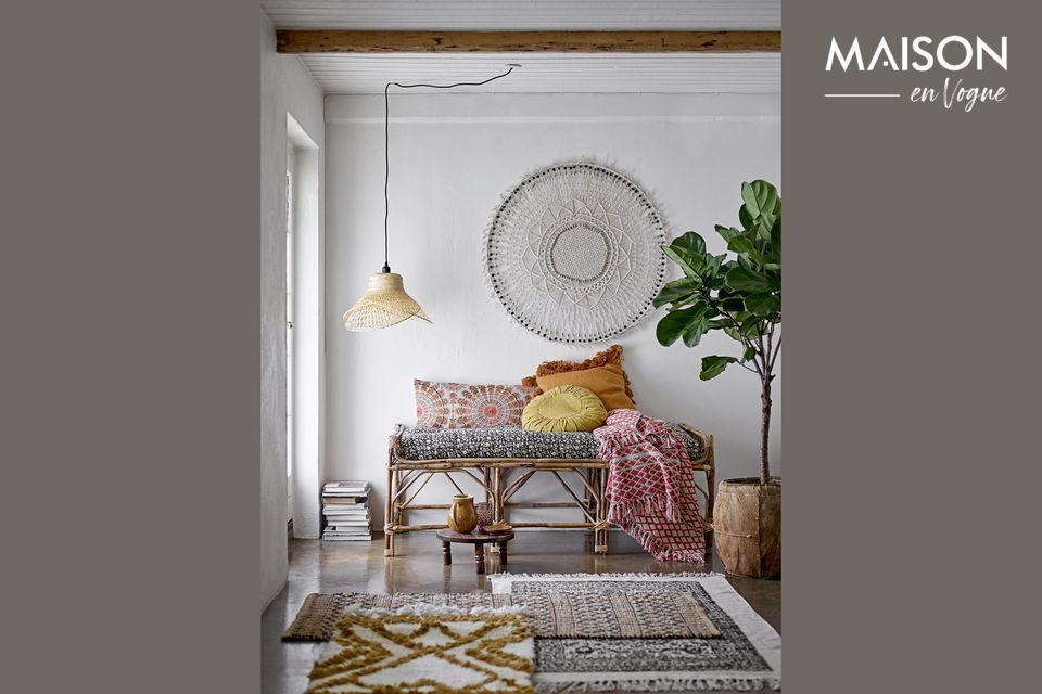 Bescherm en verfraai uw bank of bed met deze elegante Noilhan plaid