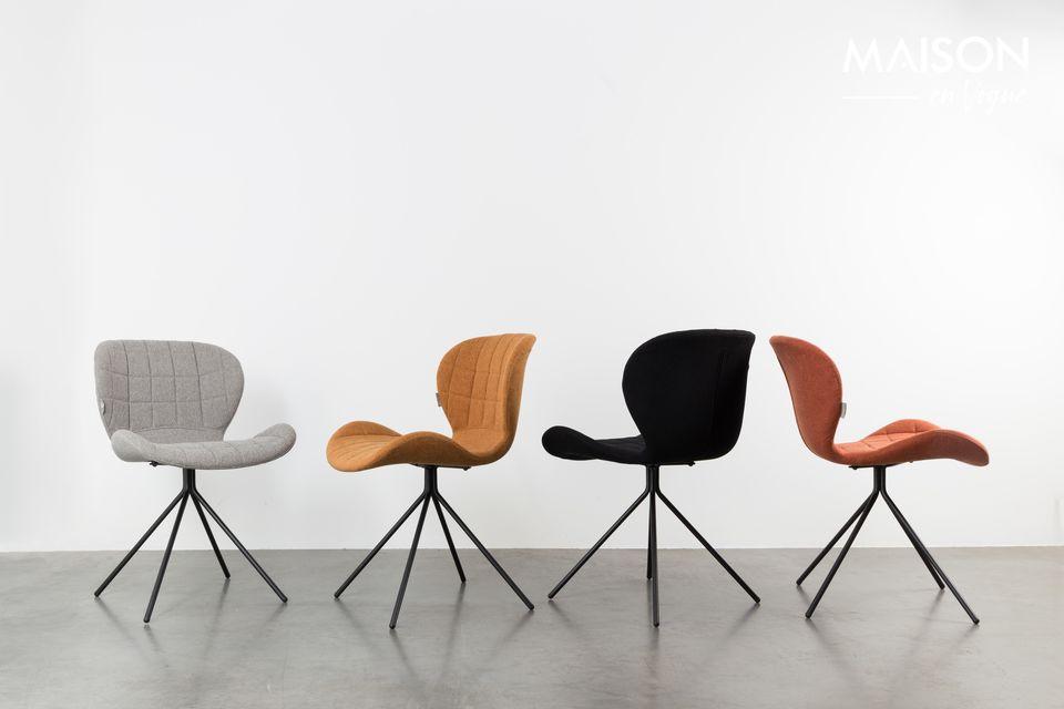 Een design stoel met ongeëvenaard comfort