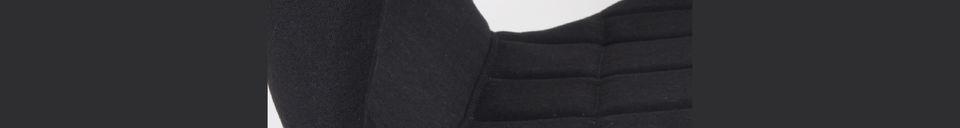 Benadrukte materialen Omg stoel zwart