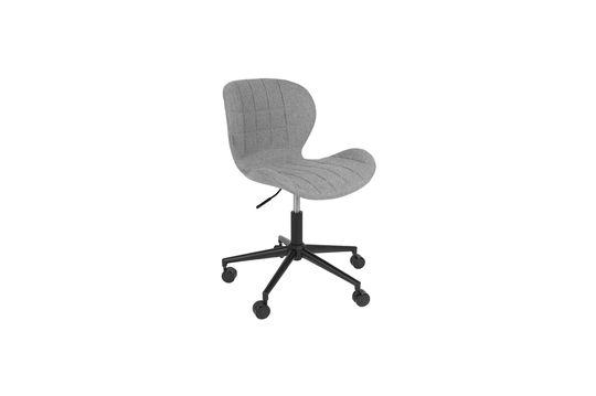 OMG zwarte en grijze bureaustoel