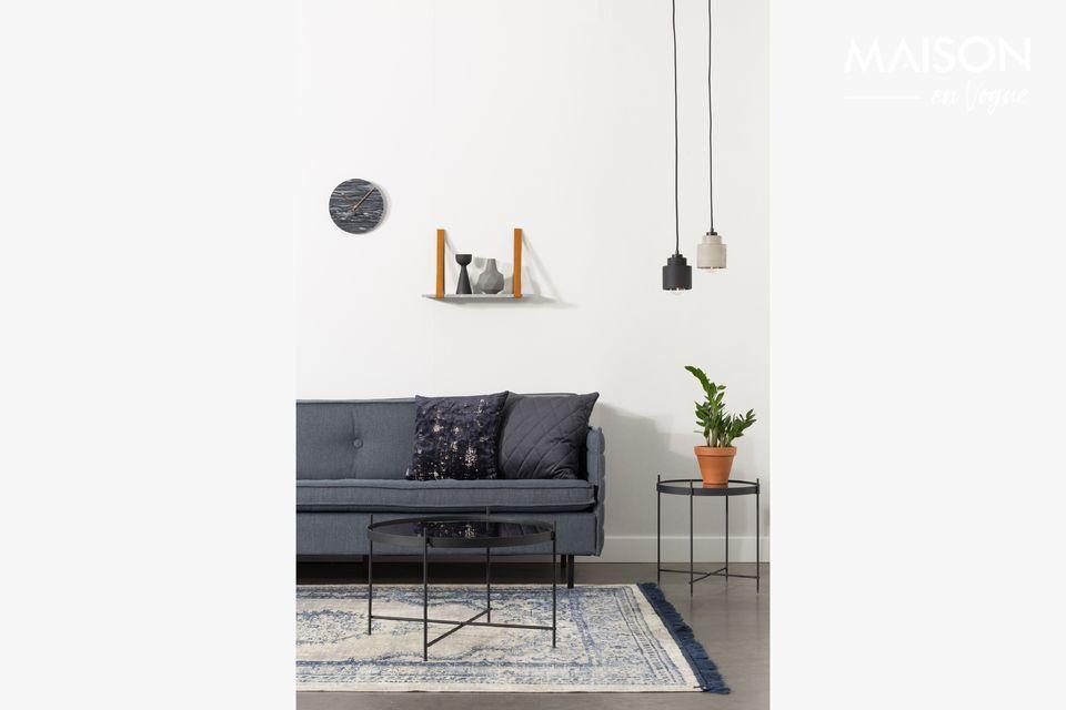 Een moderne en ongewone lamp
