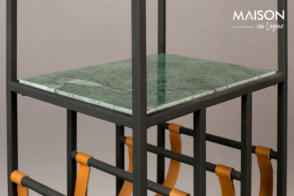 Dit meubelstuk combineert functionaliteit en decoratie