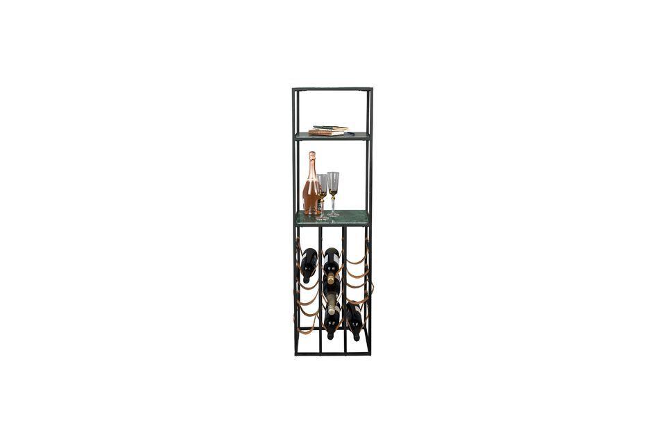 Dit is een zeer elegant meubelstuk met een mooie combinatie van materialen en kleuren