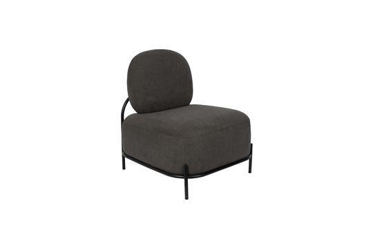 Polly grijze loungestoel Productfoto