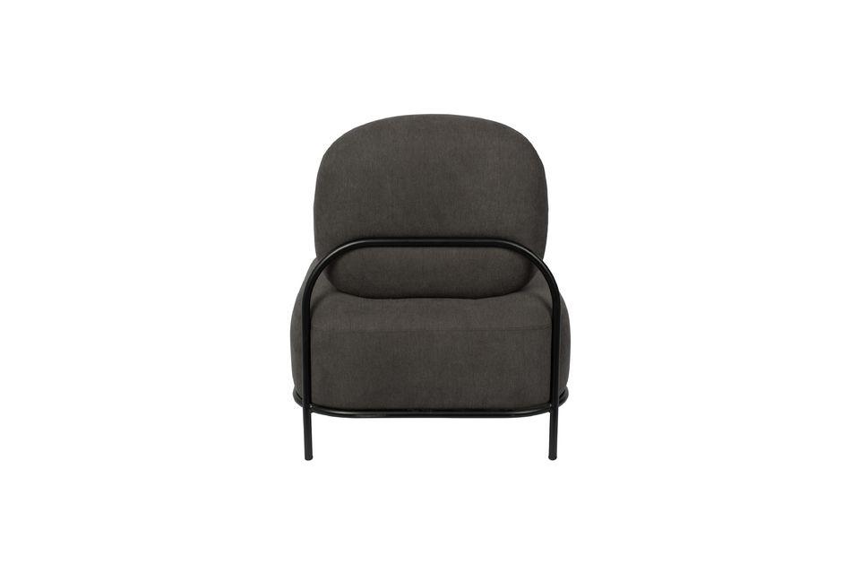 Polly grijze loungestoel - 7