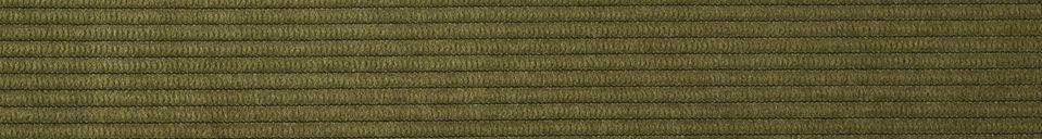 Benadrukte materialen Ridge stoel groen