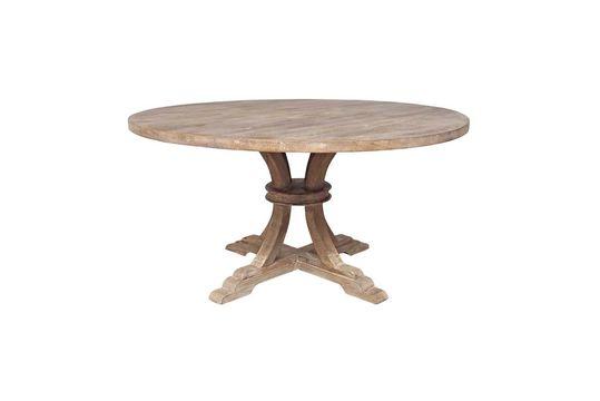 Ronde tafel in hout Valbelle