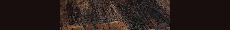 Benadrukte materialen Ruwe Houten Tafel