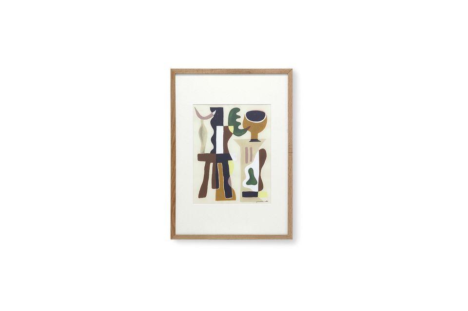 Dit schilderij is gemaakt door de Franse kunstenaar Garance Valleé en illustreert zijn