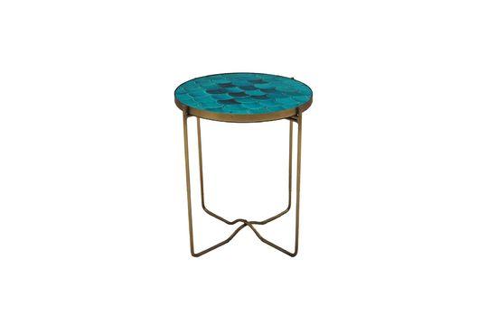Séguret bijzettafel blauw keramische schalen