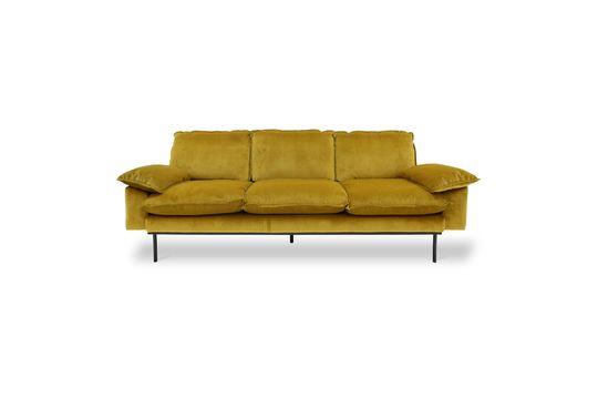 Sofa 3-zits Vez oker kleur Productfoto