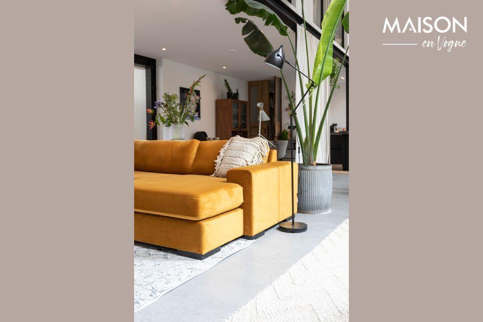 Een elegante hoekbank voor een comfortabel en eigentijds interieur
