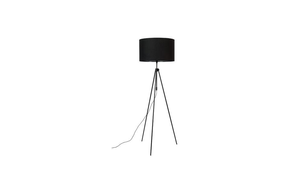 Staande lamp Lesley Black Zuiver