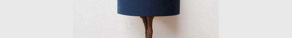 Benadrukte materialen Tafellamp Anda