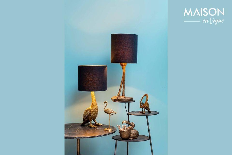 Een originele en verfijnde lamp