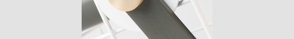 Benadrukte materialen Tafellamp Witte Kooi