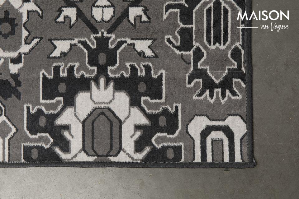 Dit tapijt is gemakkelijk te onderhouden (alleen met een stofzuiger) en is perfect compatibel met