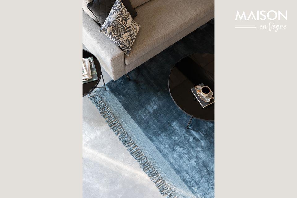 Tapijtknipperen 200x300 Blauw Zuiver Een Elegant En Tijdloos Tapijt