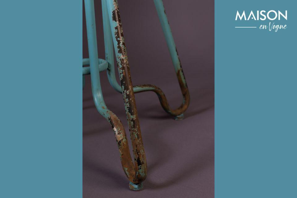 Met zijn ongelooflijke metallic design is de Ovid Ocean toonbankkruk een essentieel onderdeel van