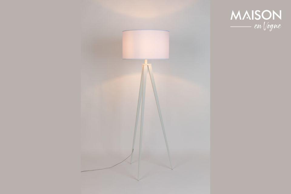 Vloerlamp Statief Wit - 5