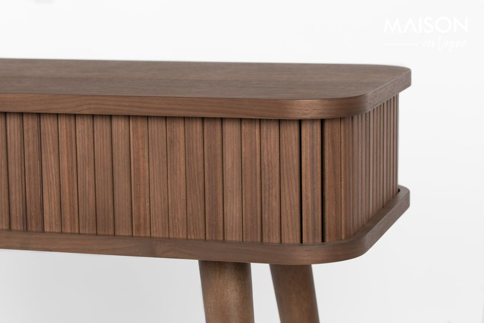 Walnoot Barber Console - 4