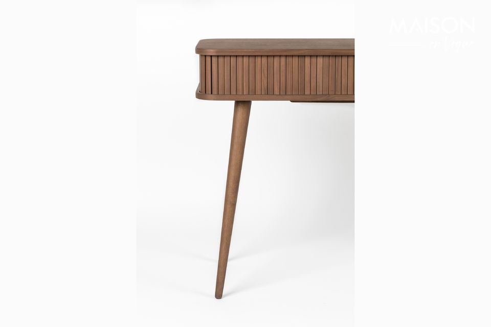 Walnoot Barber Console - 5