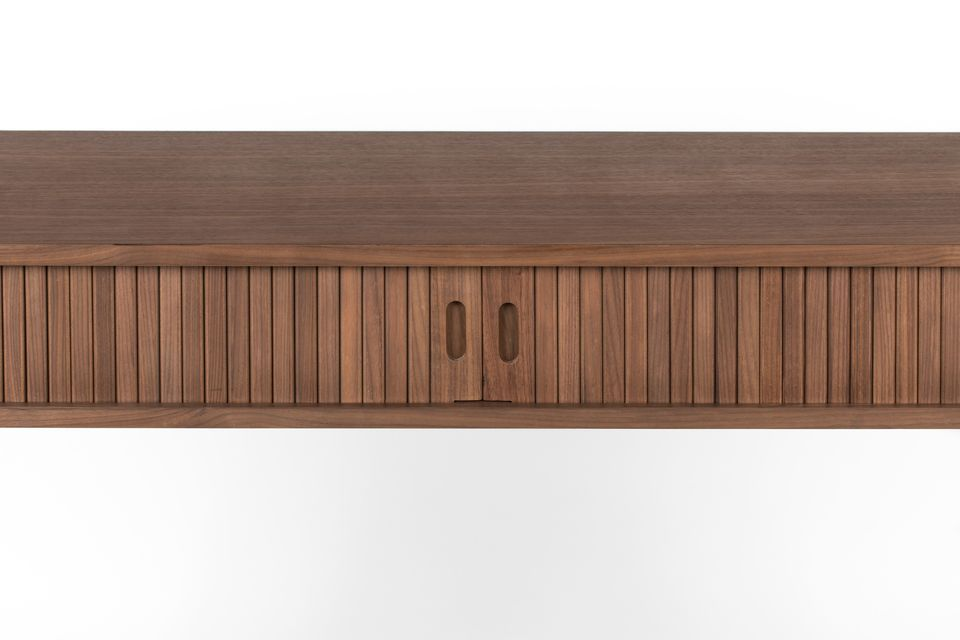 Walnoot Barber Console - 6