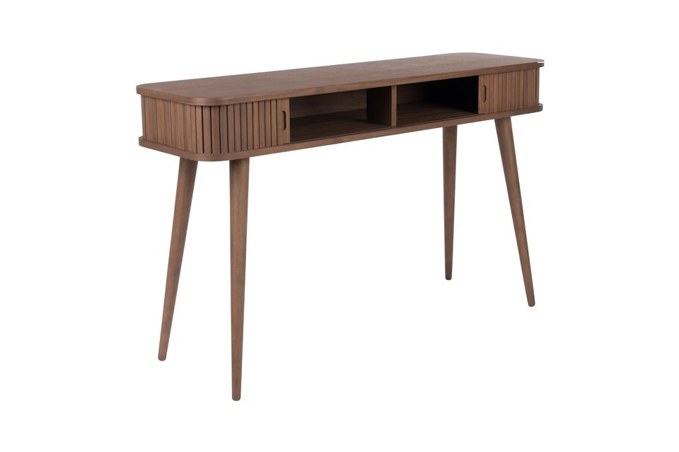Walnoot Barber Console - 9