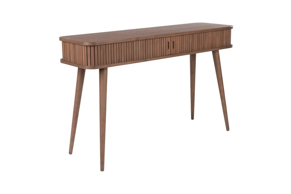 Walnoot Barber Console - 10