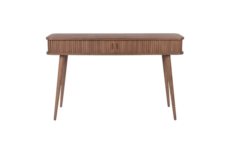 Walnoot Barber Console - 7