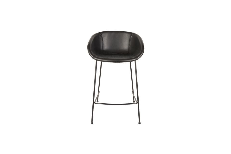 Zwarte Festoon Counter Stool - 11