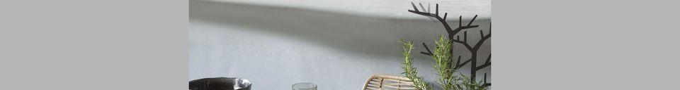 Benadrukte materialen Zwarte soepkom Porcelino Experience