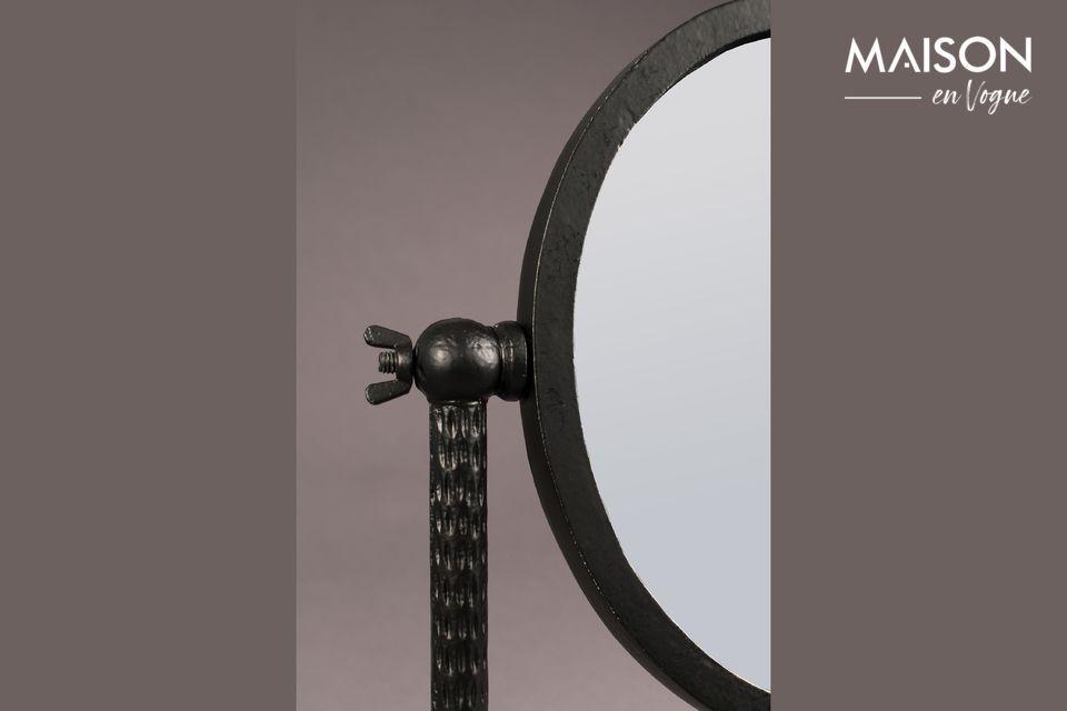 De elegantie van een decoratieve spiegel met een ongebruikelijk ontwerp